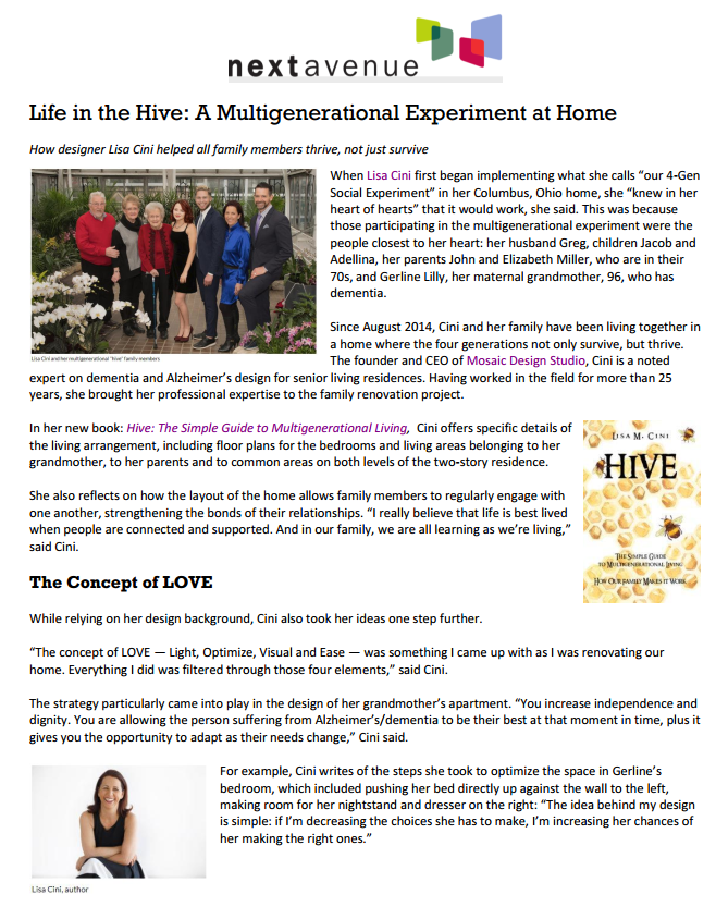Life in the Hive article upload